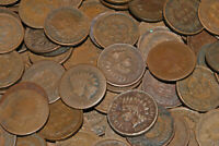 HUGE LOT OF 682 INDIAN HEAD PENNIES MIXED DATES