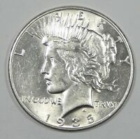1935 PEACE DOLLAR ALMOST UNCIRCULATED/UNC SILVER $