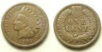 1909 S INDIAN HEAD CENT-LOWEST MINTAGE GREAT KEY DATE SHIPS FREE