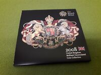 THE ROYAL MINT 2008 U.K BRILLIANT UNCIRCULATED COIN COLLECTION OLYMPIC 2.00 COI