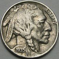 1935 5C BUFFALO NICKEL INDIAN HEAD NICKEL FIVE CENTS 13971