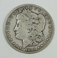 1895-S MORGAN DOLLAR FINE SILVER DOLLAR  KEY DATE OF THE SERIES