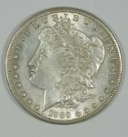 1889-S MORGAN DOLLAR ALMOST UNCIRCULATED SILVER $