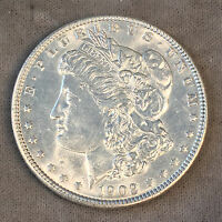 1902 MORGAN SILVER DOLLAR - UNCIRCULATED- CHECK THE  HIGH QUALITY SCANS C474