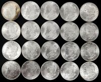 UNCIRCULATED ROLL OF 1885 MORGAN SILVER DOLLARS  20 COINS