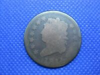 1814 CROSSLET CLASSIC HEAD LARGE CENT ONE CENT COIN