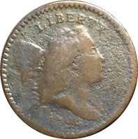 1794 LIBERTY CAP HALF CENT 1/2C DETAILS POLISHED/CLEANED READABLE DATE