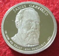 2011 S GEM PROOF DEEP CAMEO JAMES GARFIELD PRESIDENTIAL DOLLAR 9500