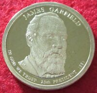 2011 S GEM PROOF DEEP CAMEO JAMES GARFIELD PRESIDENTIAL DOLLAR 9503