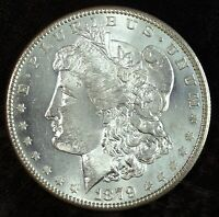 1879 S MORGAN SILVER DOLLAR  UNCIRCULATED  GREAT FOR SETS 518