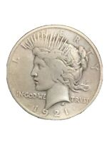 1921 P PEACE SILVER DOLLAR KEY DATE NO RESERVE