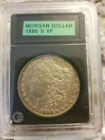 1886 S MORGAN DOLLAR ,  CIRC