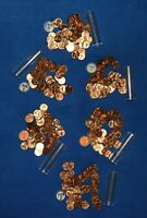 1958 D LINCOLN WHEAT CENT ROLLS   6 ROLLS FROM BIG COLLECTION