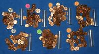 1957 P LINCOLN WHEAT CENT ROLLS   ABOUT 7 ROLLS FROM BIG COLLECTION