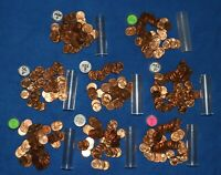 1956 P LINCOLN WHEAT CENT ROLLS   8 ROLLS FROM BIG COLLECTION
