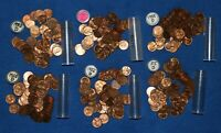 1955 D LINCOLN WHEAT CENT ROLLS   6 ROLLS FROM BIG COLLECTION