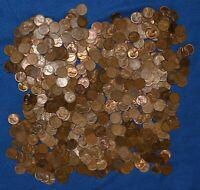1954 S LINCOLN WHEAT CENT BAG LOT   650 COINS FROM BIG COLLECTION