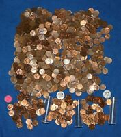 1954 P LINCOLN WHEAT CENT BAT LOT   850 COINS FROM BIG COLLECTION
