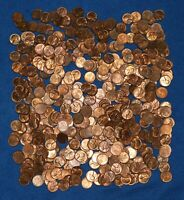 1953 P LINCOLN WHEAT CENT BAG LOT   475 COINS FROM BIG COLLECTION