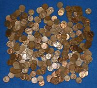 1952 S LINCOLN WHEAT CENT BAG LOT   ABOUT 325 COINS FROM BIG COLLECTION