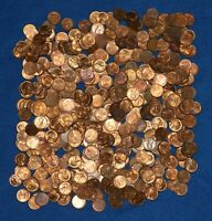 1952 D LINCOLN WHEAT CENT BAG LOT   ABOUT 475 COINS FROM BIG COLLECTION