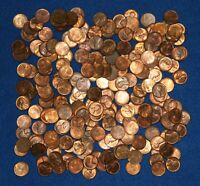 1952 P LINCOLN WHEAT CENT ROLLS   ABOUT 240 COINS FROM BIG COLLECTION