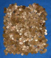 1951 S LINCOLN WHEAT CENT BAG LOT   1 200 COINS FROM BIG COLLECTION
