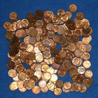 1951 D LINCOLN WHEAT CENT BAG LOT   ABOUT 225 COINS FROM BIG COLLECTION