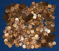 1951 P LINCOLN WHEAT CENT BAG LOT   ABOUT 340 COINS FROM BIG COLLECTION
