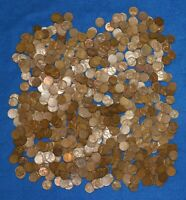 1949 S LINCOLN WHEAT CENT BAG LOT   ABOUT 725 COINS FROM BIG COLLECTION