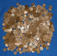 1949 D LINCOLN WHEAT CENT BAG LOT   ABOUT 550 COINS FROM BIG COLLECTION