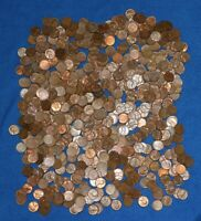 1949 P LINCOLN WHEAT CENT BAG LOT    700 COINS FROM BIG COLLECTION