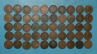 50 INDIAN HEAD PENNY CENT ROLL   1880 1899 MIXED DATES