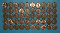50 LINCOLN MEMORIAL AND WHEAT CENTS WITH RPM ERRORS   REPUNCHED MINT MARK LOT