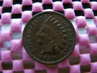 1890 INDIAN CENT WITH MISPLACED DIGITS IN DENTILS SNOW 3