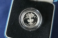1985 UNITED KINGDOM ONE POUND SILVER PROOF ROYAL MINT 1 COIN SEALED MINT E4014