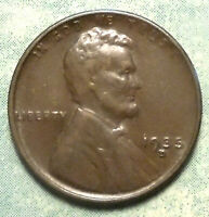 1935 D WHEAT CENT AU ABOUT UNCIRCULATED PLUS BROWN LOW 47 MILLION MORE INSTORE
