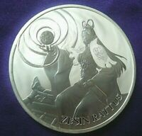 2020 SOUTH KOREA ZI:SIN RATTUS 1 OZ .999 SILVER ROUND COIN 22 000 MINTED