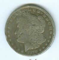 1878-P SEVEN TAIL FEATHERS REVERSE OF 1879 MORGAN SILVER DOLLAR--CIRCULATED