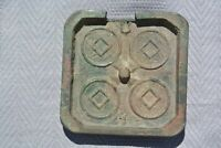 CHINA TA CH'UAN WU SHIH BRONZE COIN MOULD