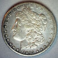 1895 O MORGAN SILVER DOLLAR COIN $1 US TYPE SILVER COIN NEW ORLEANS MINTED EXTRA FINE