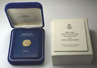 1982 BAHAMAS PROOF $50 GOLD COIN MARLIN FISH KM92   BOX & COA LOW MINTAGE 841