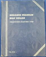 35 PIECE US 90  SILVER CIRC. FRANKLIN 50C SET 1948 63D IN WH