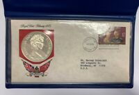 1975 BERMUDA $25 ROYAL VISIT STERLING SILVER PROOF COIN FIRS
