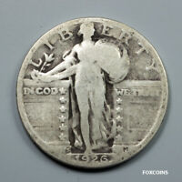 1926-S STANDING LIBERTY QUARTER  >> US 25C COIN <<  LOW RATE SHIPPING  LOT 102