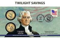 JEFFERSON 2007 $1 P & D PRESIDENTIAL FIRST DAY COVER - SEALED P23