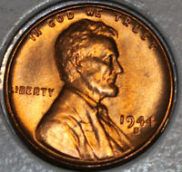 1944-S WHEAT CENT UNCIRCULATED BU RED [SN24]