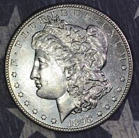 1898-S MORGAN SILVER DOLLAR PROOF LIKE COLLECTOR COIN. SHIPS FREE