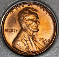 1945-D WHEAT CENT UNCIRCULATED RED [SN20]