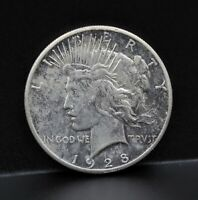 1928 P UNITED STATES PEACE DOLLAR KEY DATE SILVER COIN  8280